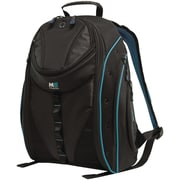 "Mobile Edge Express 2.0 16"" PC/17"" MacBook Backpack, Black/Teal"
