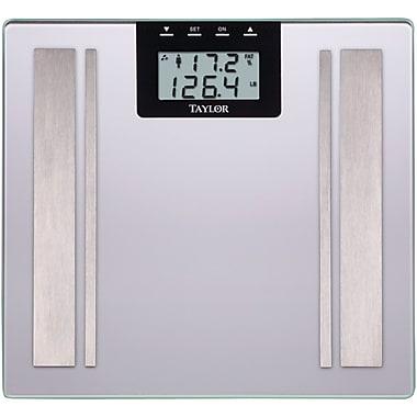 Taylor Body Fat Digital Scale, Silver