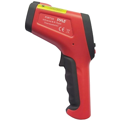 Pyle® High-Temperature Infrared Digital Thermometer With Type K Input