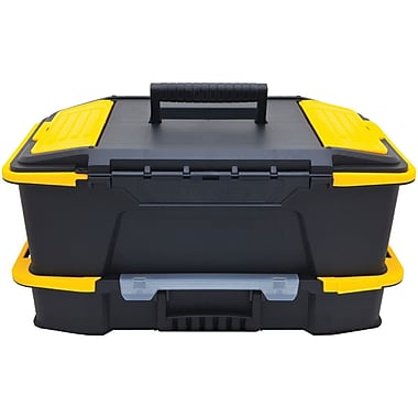 Stanley® Click \u0027n\u0027 Connect™ 2-in-1 Tool Box  sc 1 st  Staples & Tool Boxes Sheds \u0026 Storage | Staples islam-shia.org