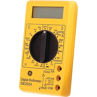 GE 17-Range 6-Function Digital Multimeter