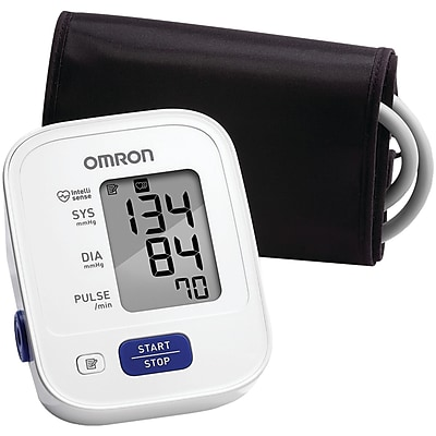 Omron® 3 Series Advanced Accuracy Upper Arm Blood Pressure Monitor, White