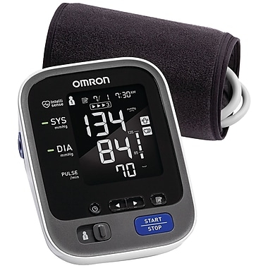 Omron® 10 Series Advanced Accuracy Upper Arm Blood Pressure Monitor, Gray