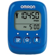 Omron Alvita Ultimate Pedometer, Blue (OMRHJ325)