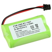Insten® 1400mAh 2.4 VDC Ni-MH Cordless Phone Battery For Uniden BT-1007(316583)