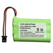 Insten® 1000mAh 3.6 VDC Ni-MH Cordless Phone Battery For Uniden BT-446(286578)