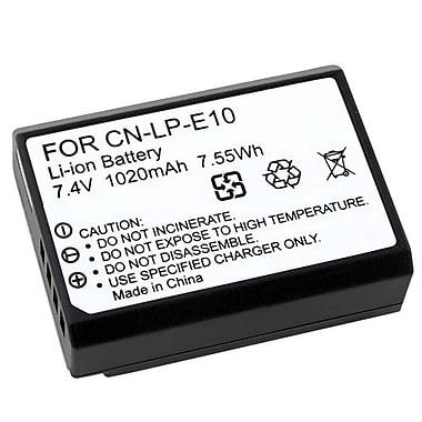 Insten 7.4 V Rechargeable Li-ion Battery For Canon LP-E10, Black