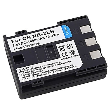 Insten® 7.4 VDC 1800mAh Rechargeable Li-ion Battery For Canon NB-2LH(287081)