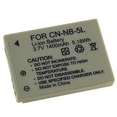 Insten® 3.7 VDC 1400mAh Rechargeable Li-ion Battery For Canon NB-5(212666)