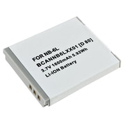 Insten® 238937 3.7 VDC Rechargeable Li-ion Battery For Canon NB-6L, White