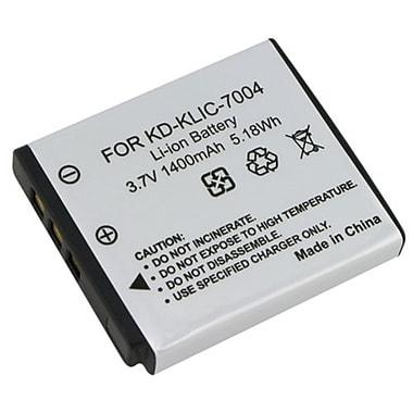 Insten - Ensemble 2 pièces de batterie CC pour Kodak KLIC-7004/Fuji NP-50/Pentax D-LI68/Fujifilm X20 (230414)