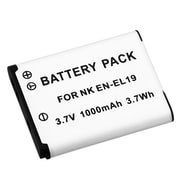 Insten® 392616 2-Piece DV Battery Bundle For Nikon EN-EL19