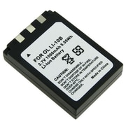 Insten® 276891 3.7 VDC Rechargeable Li-ion Battery For Olympus Li-10B/Li-12B/DB-L10, Black