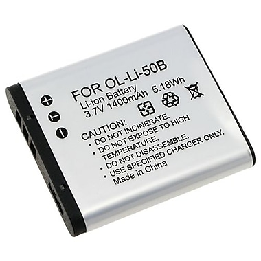 Insten® 3.7 VDC 1400mAh Rechargeable Li-ion Battery For Olympus Li-50B/1010/1020/1030(238943)