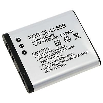 Insten® 238944 2-Piece DV Battery Bundle For Olympus Li-50B/1010/1020/1030