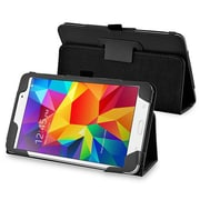 """Insten® Leather Stand Case For Samsung Galaxy Tab 4 7"""" T230, Black"""