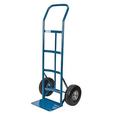 Kleton Flat Free Wheel Hand Trucks, Continuous Handle