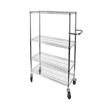 Kleton Push Carts, 4 Shelves, 36