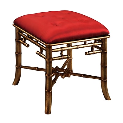 Sterling Industries 58260707369 Palace Red Bench