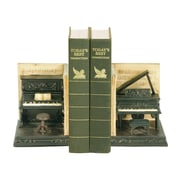 Sterling Industries 58291-37089 Set of 2 Dueling Piano Decorative Bookends, Multi