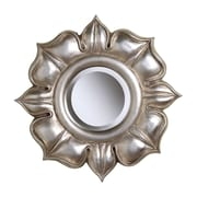 """Sterling Industries 58260504689 16""""Dia Lotus Novelty Wall Mirror"""