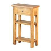 Sterling Industries Riverside Wood Side Table, Brown, Each (58265008309)