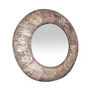 "Sterling Industries 58253-1160M9 36""Dia Birch Bark Round Wall Mirror"