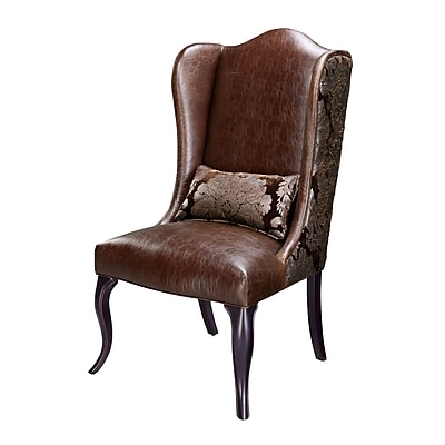 Sterling Industries Industries 58260708099 Faux Leather Pullman Chair