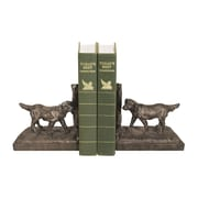 Sterling Industries 58293-73079 Set of 2 Retriever Decorative Bookends, Black