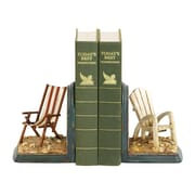 Sterling Industries 58291-42069 Set of 2 Beach Chair Decorative Bookends, Multi