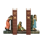 Sterling Industries 58291-24489 Set of 2 Child Games Decorative Bookends, Multi