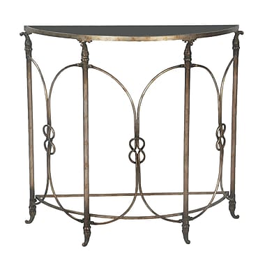 Sterling Industries 58251 Steel Console Table, Bronze, Each (58251-11869)