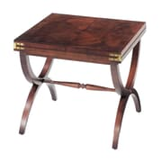 Sterling Industries Aderley Wood End Table, Mahogany, Each (58260015669)