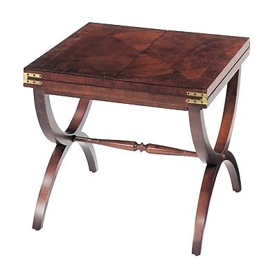 Sterling Industries Aderley Wood End Table, Mahogany, Each (58260015669)