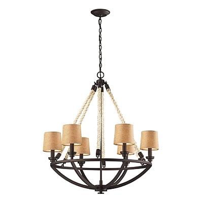 Elk Lighting Natural Rope 58263016-69 32