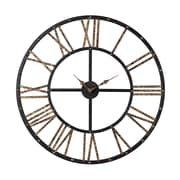 Sterling Industries 582129-10249 Restoration Metal Framed Open Back Wall Clock, White Face