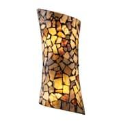 "Elk Lighting Trego 58260016-29 14"" x 6"" 2 Light Wall Sconce, Dark Rust"