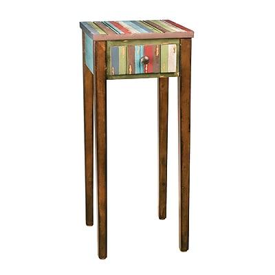 Sterling Industries 58251 Wood/Veneer Side Table, Brown, Each (58251-30809)