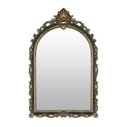 "Sterling Industries 58226-5545M9 41""H x 26""W Arched Acanthus Arch/Crowned top Wall Mirror"
