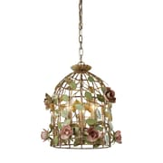 "Sterling Industries 582123-0069 15"" 3 Light Pendant, Multicolor"