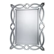 "Sterling Industries 582DM19419 42""H x 32""W Miramar Rectangle Wall Mirror"