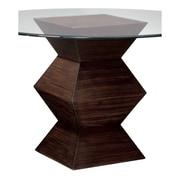 Sterling Industries Hohner Wood Side Table, Dark Wood, Each (58260432409)