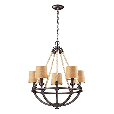 Elk Lighting Natural Rope 58263015-59 29