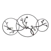 "Sterling Industries 582129-10179 ""Birds on Branch"" Wall Decor, 16""H x 33""W"