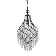 "Sterling Industries Mowbray 582122-0189 16"" 1 Light Pendant, Dark Bronze"