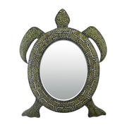 "Sterling Industries 58251-8076M9 41""H x 28""W Reflecting Tortoise Novelty Wall Mirror"