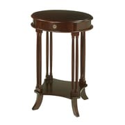 Sterling Industries Wood Side Table, Mahogany, Each (58260000179)