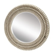 "Elk Lighting 58260504099 35""Dia Dahlia Round Wall Mirror"