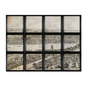 "Sterling Industries ""View of London"" Framed Wall Art, 52""H x 39""W"