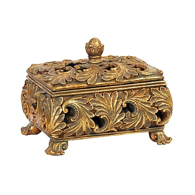 Sterling Industries 58287-26369 Gold Composite Decorative Box
